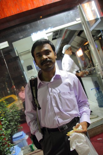 Arun Kumar, 28 years old, 1 year in AD, From Chennai, India