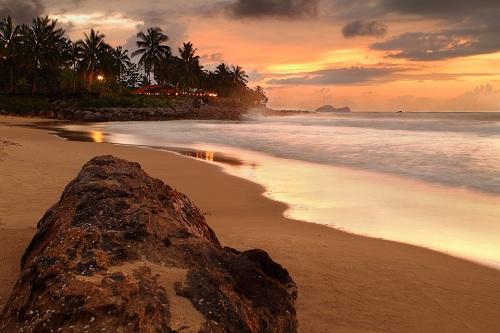 Beach at Damai Puri Resort & Spa, Santubong, Sarawak