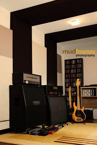 The Ark Studios Audio Facility with Amps