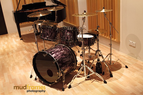 The Ark Studios Tama Starclassic Bubinga Special limited edition drum set