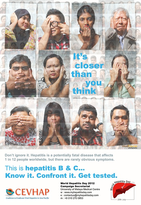 World Hepatitis Day 2012, The Malaysia Campaign