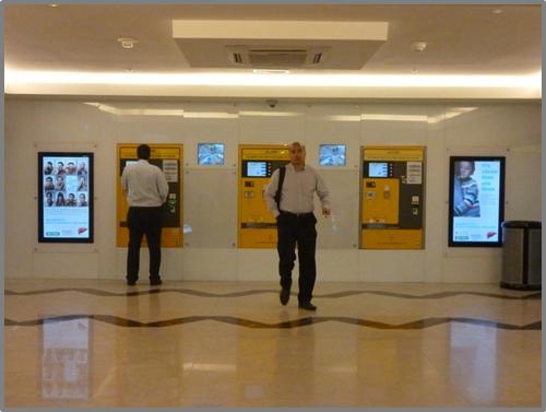 World Hepatitis Day 2012 Digital Screen at KLCC escalator lobby
