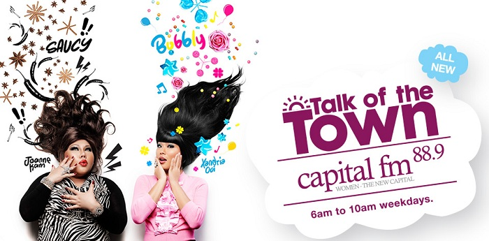 "Capital FM 88.9 Morning Radio Show: ""Talk of the Town"""