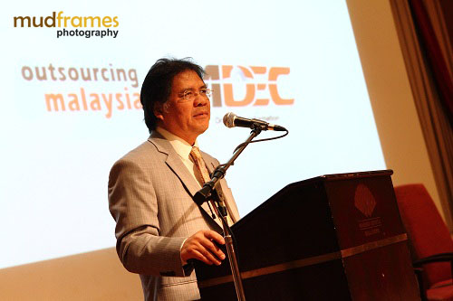 Dato' Sri Idris Jala at Outsourcing Malaysia CEO Luncheon