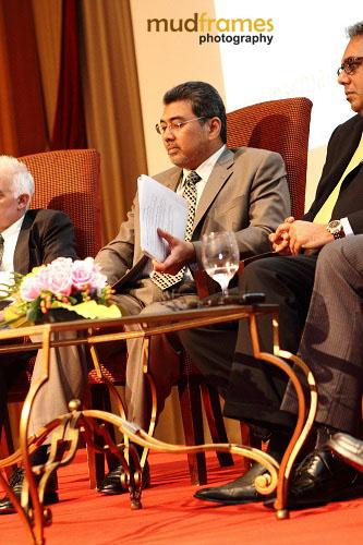 Datuk Badlisham at Outsourcing Malaysia CEO Luncheon