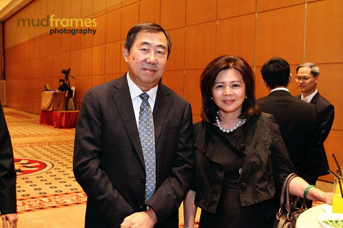 Datuk Yvonne Chia at Outsourcing Malaysia CEO Luncheon
