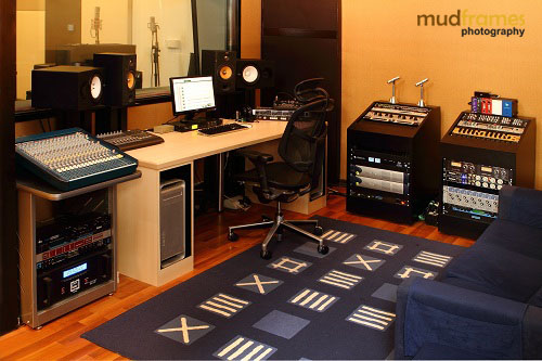 The Ark Studios Audio Facility Recording Room