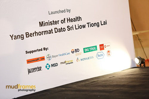 World Hepatitis Day 2012 Sponsors at One Utama Shopping Mall