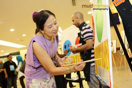 World Hepatitis Day 2012 main event at One Utama Shopping Mall