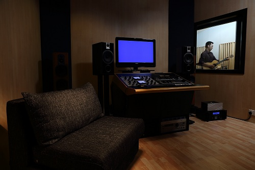 Test shot at the Ark Studios audio facility at TTDI