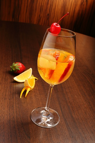 Cocktail drinks at Silver Spoon Trattoria, Italian Restaurant at Bandar Menjalara