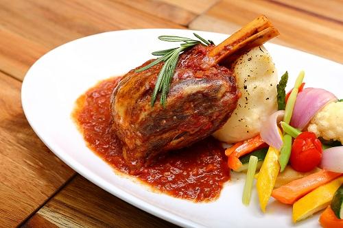 Food dish at Silver Spoon Trattoria, Italian Restaurant at Bandar Menjalara