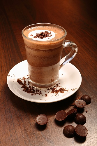 Hot chocolate drink at Silver Spoon Trattoria, Italian Restaurant at Bandar Menjalara