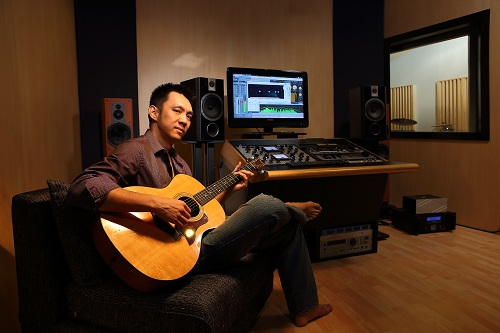 Nick Lee of the Ark Studios audio facility at TTDI