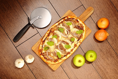 Pizza at Silver Spoon Trattoria, Italian Restaurant at Bandar Menjalara