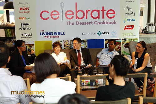 "Launch of ""Celebrate - The Dessert Cookbook"" at buffalo kitchens restaurant"