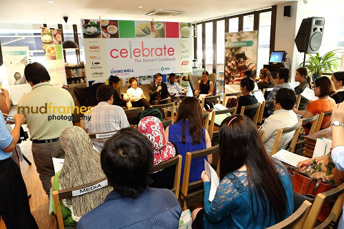 "Launching of ""Celebrate - The Dessert Cookbook"" at buffalo kitchens restaurant"