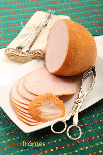 Christmas photo shoot for Cold Storage Honey Cured Smoked Turkey Boneless Breast