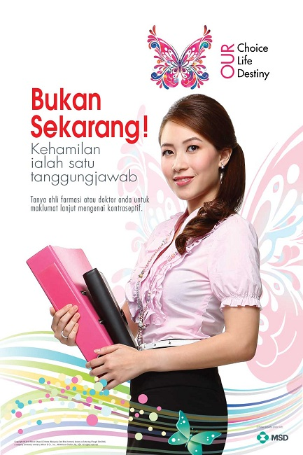 MSD Contraception Campaign 2013 (Poster BM Artwork)