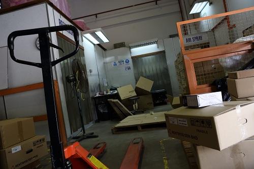 BTS: Lighting Rentwise Warehouse
