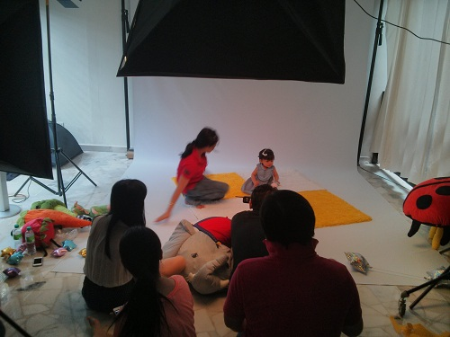 BTS: Toddler fashion shoot for Pigeon Malaysia