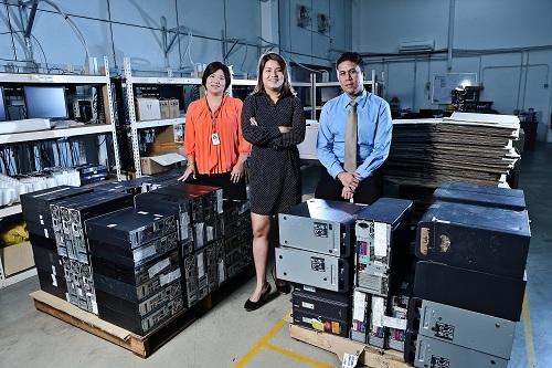 Rentwise Management Team at Warehouse
