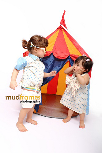 Toddler fashion shoot for Pigeon Malaysia