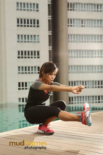 Herny Suraya, Fitness Instructor