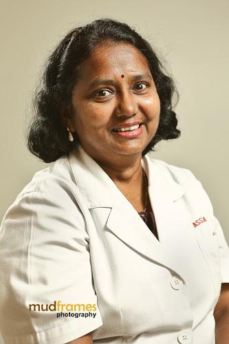 Elizabeth A/P Samikannu, Assunta Hospital Nurse since 1976