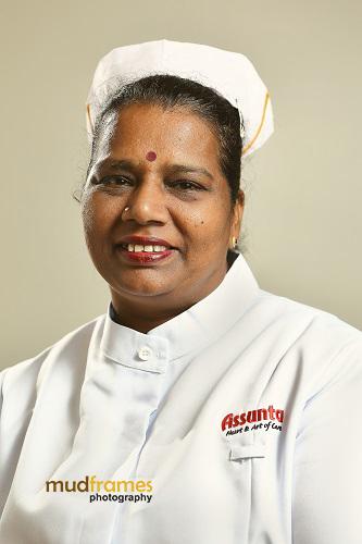 Jayarani A/P Kuppusamy, Assunta Hospital Nurse since 1981