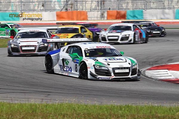Audi R8 LMS Cup 2013 at Sepang