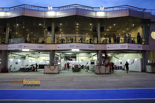 Audi racing team pits during MMER 2013 at Sepang