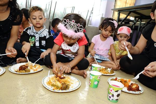 Myanmar Refugee Children at PBCC Children's Day