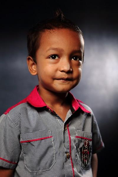 Portrait of Myanmar Refugee Children