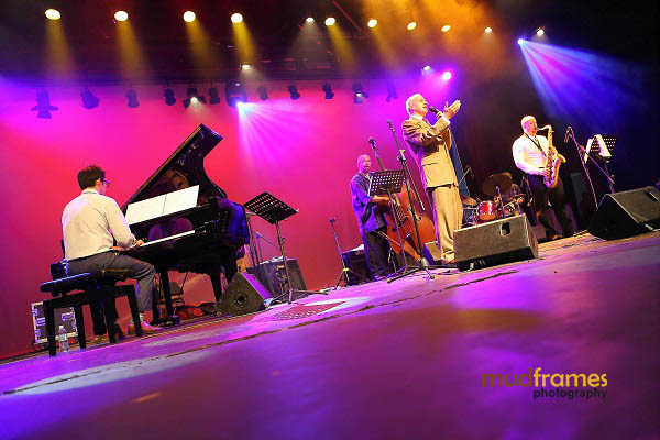 The Christy Smith Quartet performing during the KL International Jazz Festival 2013