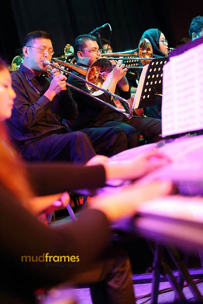 The UM Symphony Orchestra performing during the KL International Jazz Festival 2013