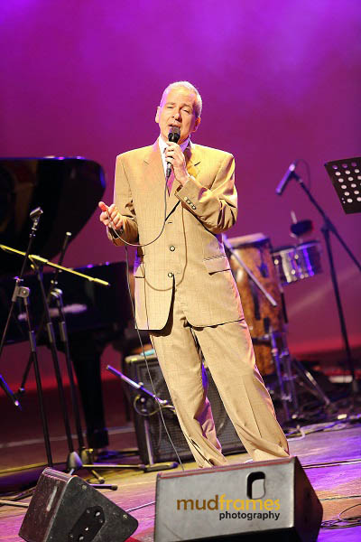 Todd Gordon sings with The Christy Smith Quartet during the KL International Jazz Festival 2013
