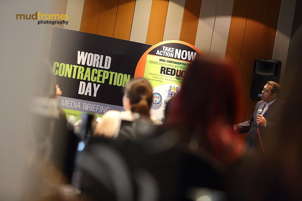Dr. K K Iswaran speaking at the Exeltis Pharma Bloggers Workshop Event in conjunction with World Contraception Day 2013