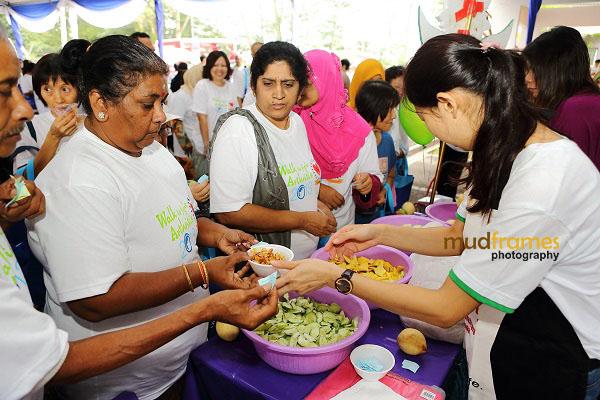 Rojak stall at World Arthritis Day 2013