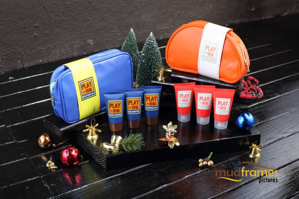 Guardian bath travel set body care range product photography for 2013 Christmas catalogue