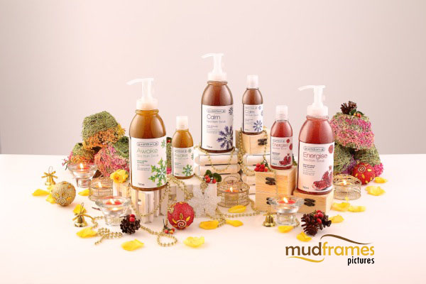 Guardian Spa Bath Scrub body care range product photography for 2013 Christmas catalogue