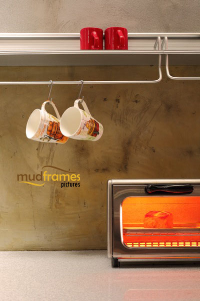 Interior photography of kitchen at Mudframes boutique SOHO photography studio in PJ