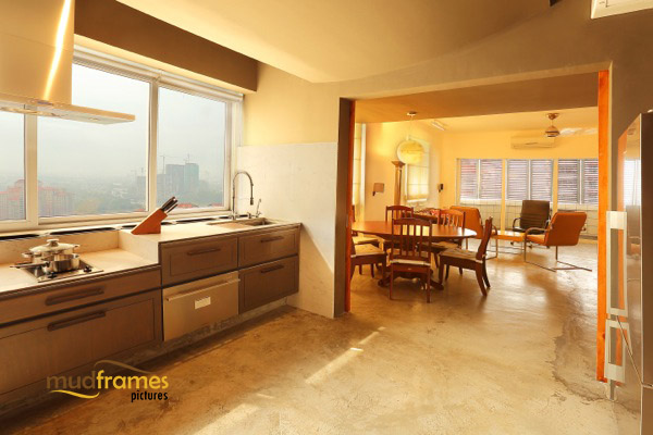 Interior photography of kitchen in condo