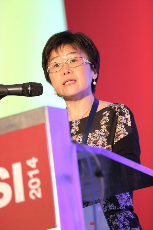 Dato Dr Gun Suk Chyn addressing MISI 2014