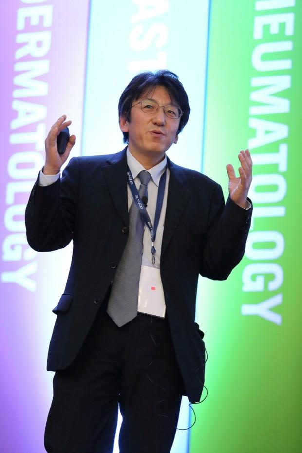 Dr Masato Okada speaking during MISI 2014
