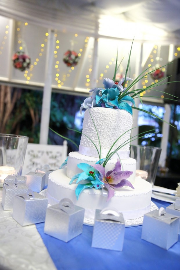 Wedding cake at Passion Road
