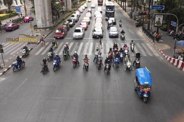 Rama 1 road, Bangkok, Thailand