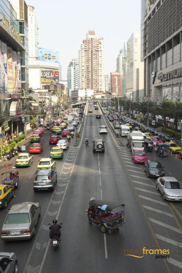 Traffic at Bangkok, Thailand