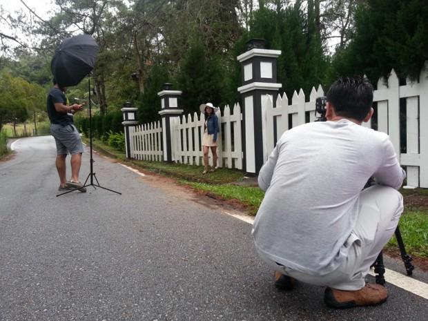 BTS: DIY pre-wedding photography at Fraser's Hill