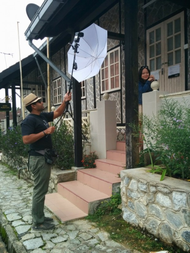 BTS: DIY pre-wedding photography at Fraser's Hill